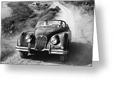 Jaguar Xk 150 Drophead Coupe Greeting Card