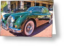Jaguar Xk Classic Greeting Card