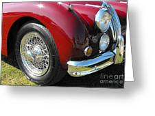 Jaguar Xk Series Greeting Card