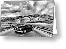 Jaguar Xk150 1960 Greeting Card