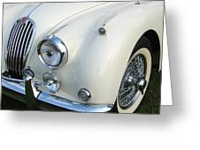 Jaguar Xk150 Greeting Card