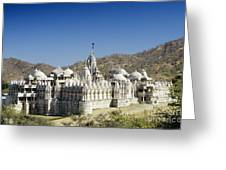Jain Temple Of Ranakpur Greeting Card