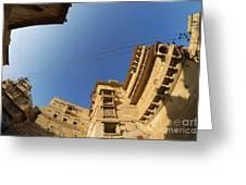 Jaisalmer Fort Greeting Card