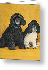 Jake And Lucy Greeting Card
