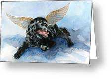 Jake Angel Greeting Card