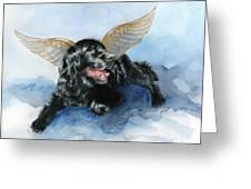 Jake Angel Greeting Card
