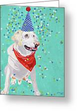 Jake The Party Animal Greeting Card