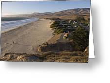 Jalama Campground And Beach. Pacific Greeting Card by Rich Reid