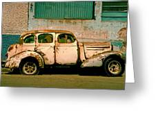 Jalopy Greeting Card