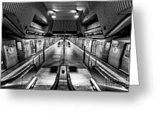 Jamaica Center Subway Station, Queens New York Greeting Card