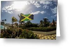 Jamaica Day Greeting Card