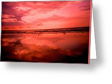 Jamaica Sunset Greeting Card