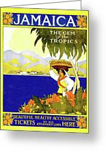 Jamaica, The Gem Of Tropics Greeting Card