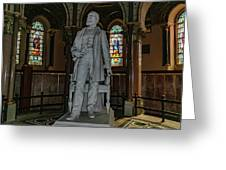 James A. Garfield Statue Greeting Card