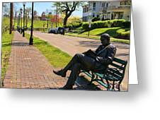 James Bradley Statue 4211 Greeting Card