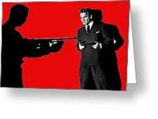 James Cagney As Gangster  Rocky Sullivan In Angels With Dirty Faces 1938-2008 Greeting Card