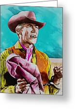 James Coburn Greeting Card