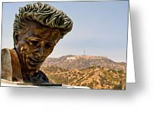 James Dean - Griffith Observatory Greeting Card