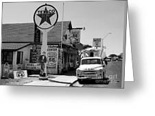 James Dean On Route 66 Greeting Card