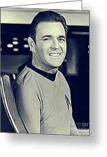 James Doohan, Scotty Greeting Card