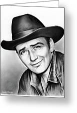 James Drury Greeting Card