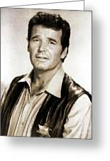 James Garner By Mb Greeting Card