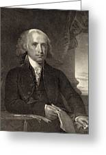 James Madison - Fourth President Of The United States Of America Greeting Card