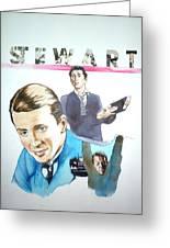 James Stewart Greeting Card