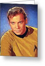 James T. Kirk Greeting Card
