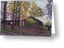 James's Barns 9 Greeting Card
