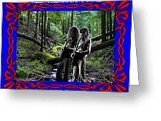 Jamming On Mt. Spokane 1 Greeting Card