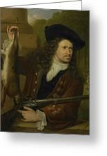 Jan De Hooghe  Greeting Card