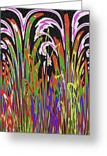 Jancart Drawing Abstract #8455wtpc Greeting Card