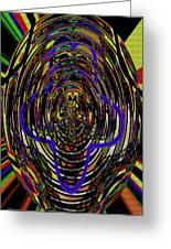 Jancart Drawing Glass 8455dwtpcg Greeting Card