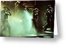 Janet Jackson 90-2387 Greeting Card