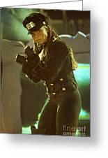 Janet Jackson 94-3022 Greeting Card