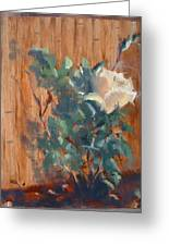 January Rose Greeting Card