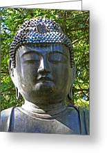 Japanese Buddha Greeting Card