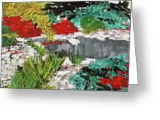 Japanese Garden Norfolk Botanical Garden 201819 Greeting Card