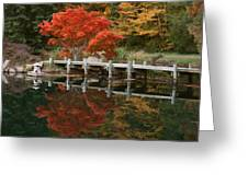 Japanese Reflection Greeting Card