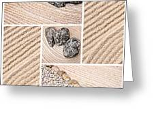 Mineral Garden  Greeting Card