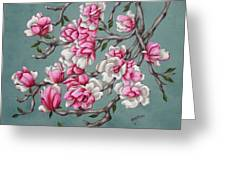 Japenese Magnolia Greeting Card