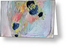 Jar Of Sunflowers Greeting Card by Brooke Wandall