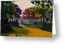 Jardin Du Luxembourg Greeting Card