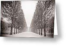 Jardin_du_luxembourg Greeting Card