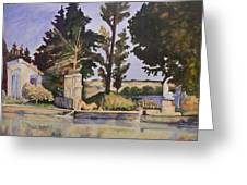 Jas_de_bouffan_after_cezanne Greeting Card by Don Perino