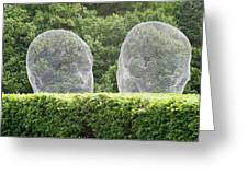Jaume Plesna At Yorkshire Sculpture Park Greeting Card