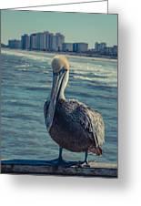 Jax Beach  Greeting Card