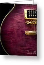 Jay Turser Guitar 6 Greeting Card