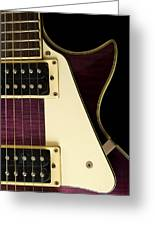 Jay Turser Guitar 7 Greeting Card